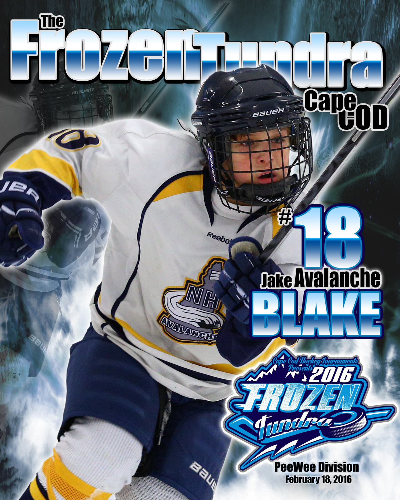 SilverPeak Studios Commemorative Poster Samples Action Sports Hockey Photography (1)