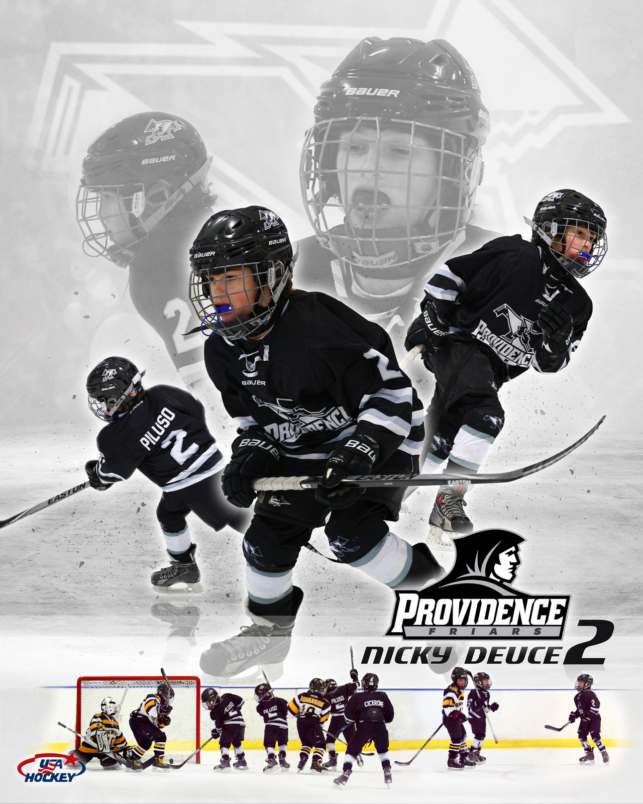SilverPeak Studios Commemorative Poster Samples Action Sports Hockey Photography (10)