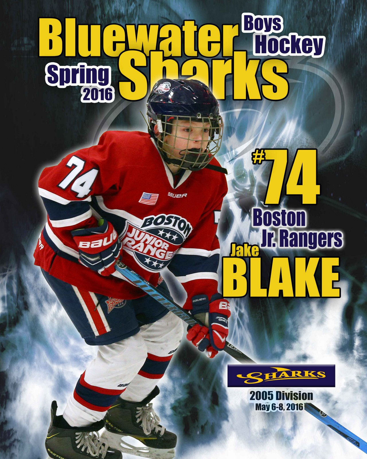 SilverPeak Studios Commemorative Poster Samples Action Sports Hockey Photography (13)