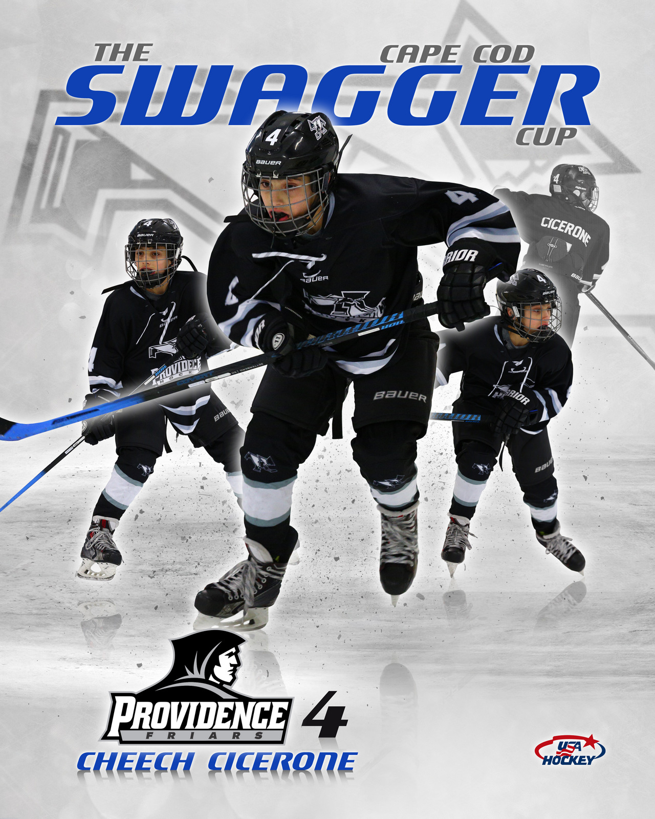 SilverPeak Studios Commemorative Poster Samples Action Sports Hockey Photography (4)