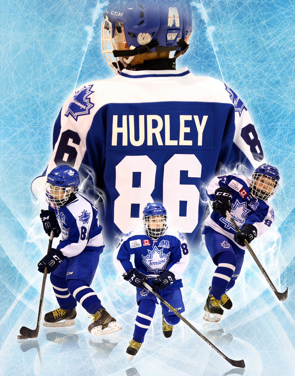 SilverPeak Studios Commemorative Poster Samples Action Sports Hockey Photography (5)