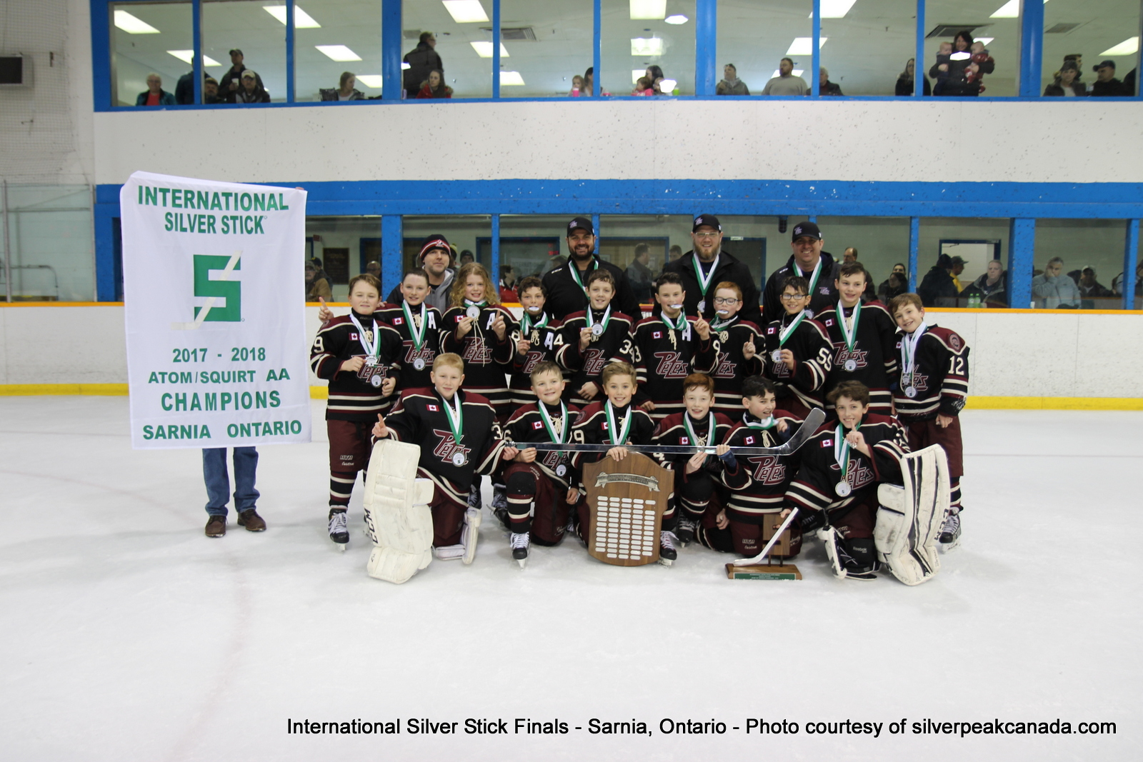 Silver Stick Finals Photos Sarnia SilverPeak Studios Action Photography Atom AA Champions