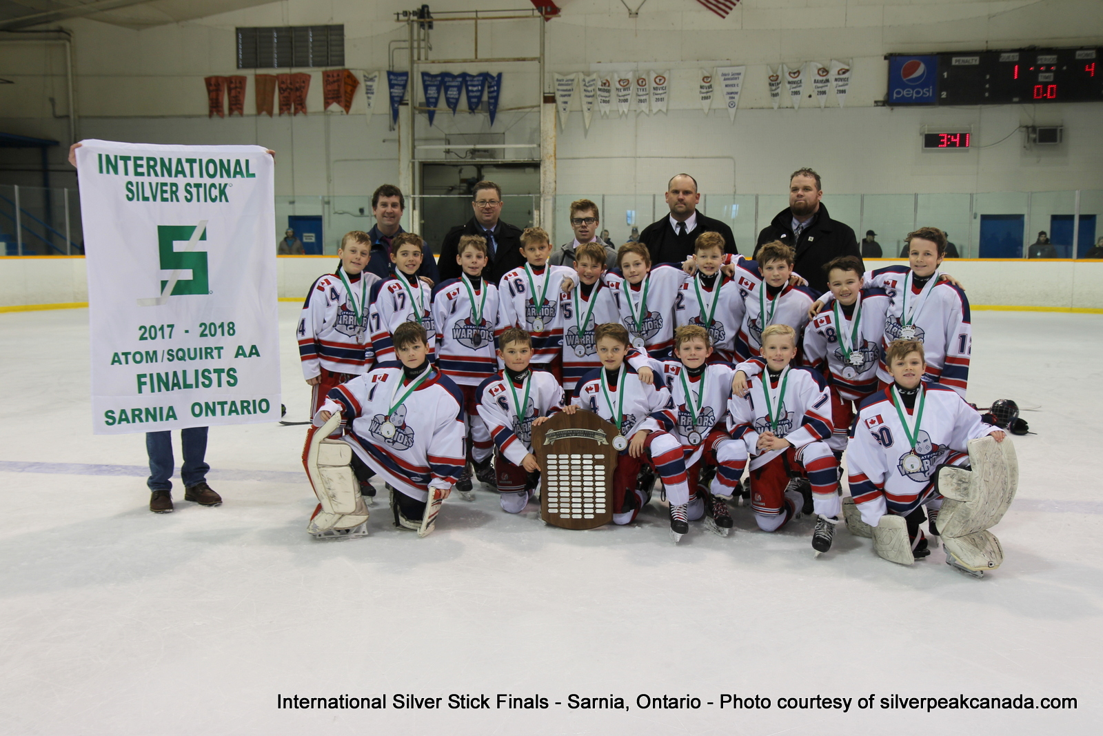 Silver Stick Finals Photos Sarnia SilverPeak Studios Action Photography Atom AA Finalists