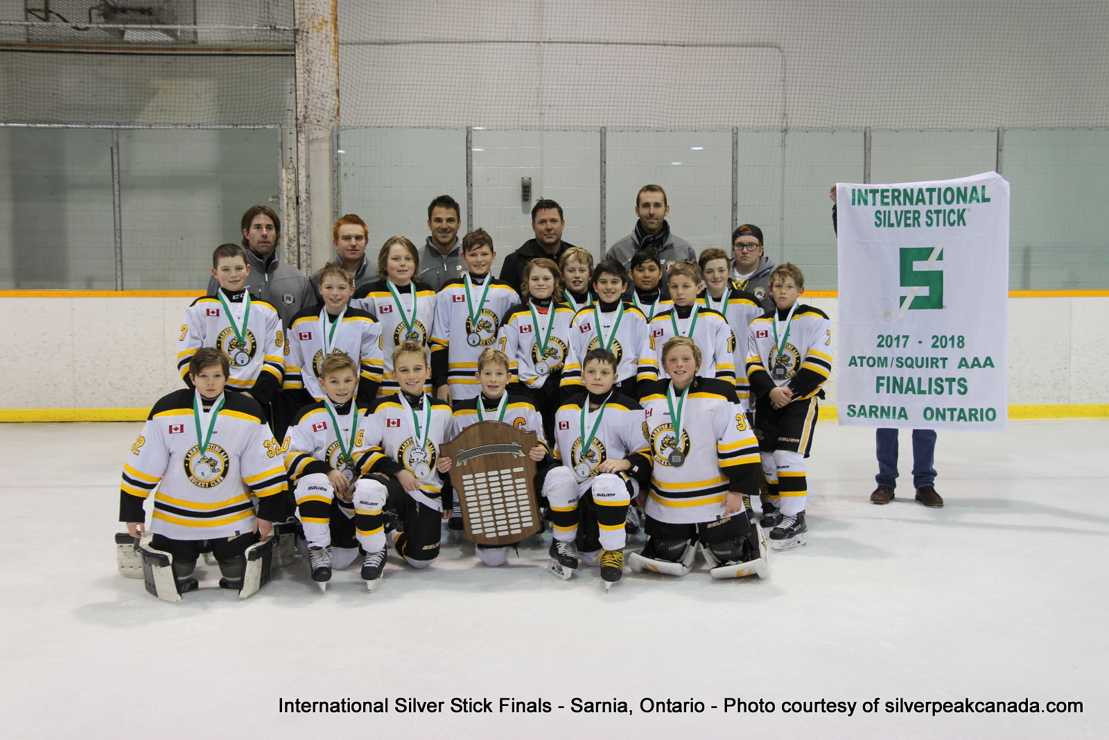 Silver Stick Finals Photos Sarnia SilverPeak Studios Action Photography Atom AAA Finalists