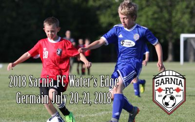 NEXT EVENT: 2018 Water's Edge Sarnia FC Soccer Tournament