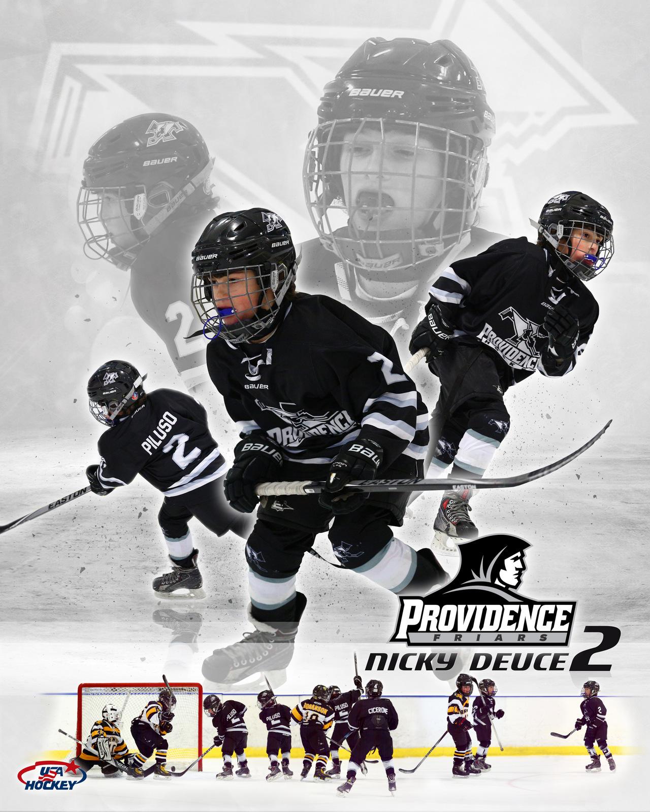 SilverPeak Studios Commemorative Poster Samples Action Sports Hockey Photography (10)