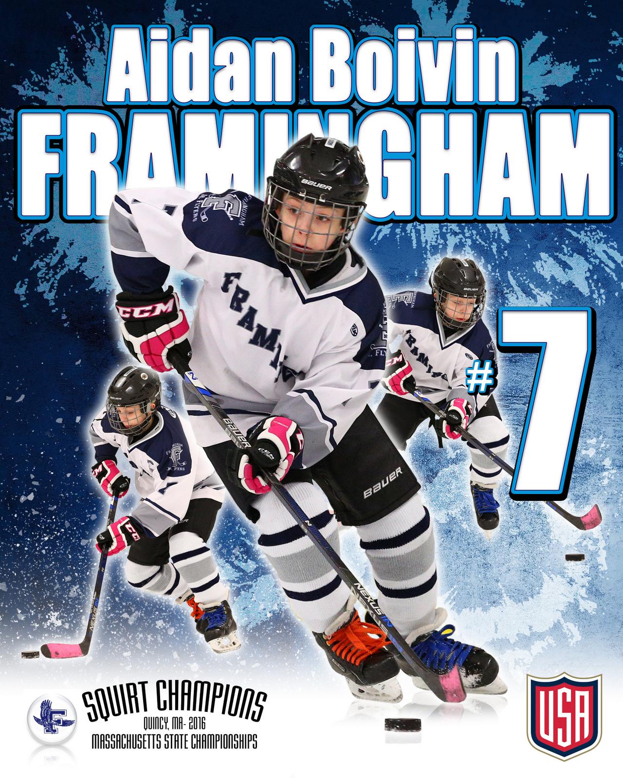 SilverPeak Studios Commemorative Poster Samples Action Sports Hockey Photography (11)