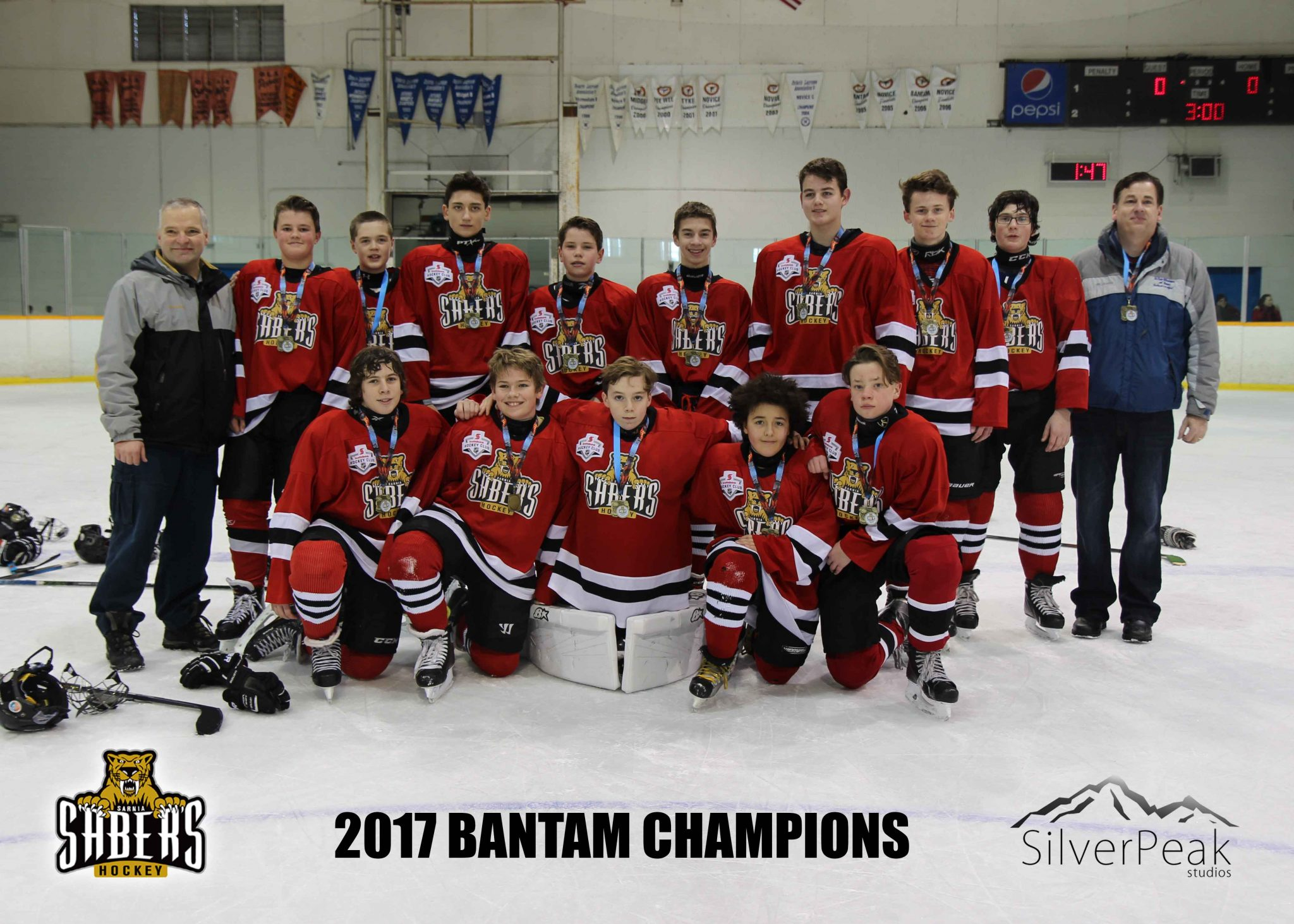 _Bantam Team Red Champions