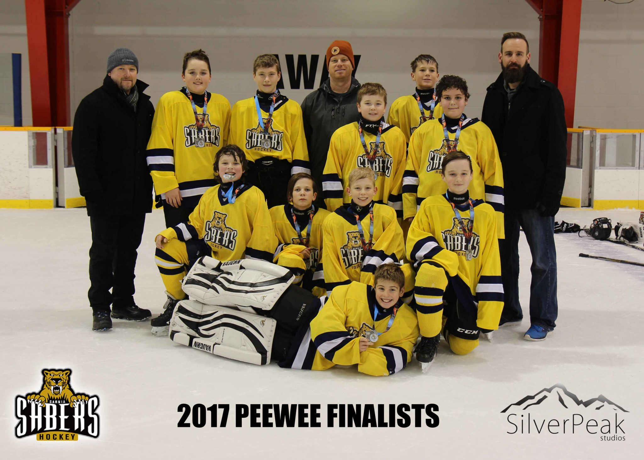 _Peewee Big Daddy Team Yellow Finalists