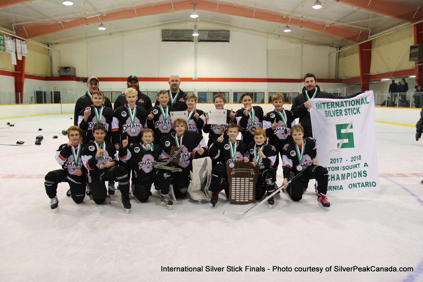 Silver Stick Finals Photos Sarnia SilverPeak Studios Action Photography Atom A Champions