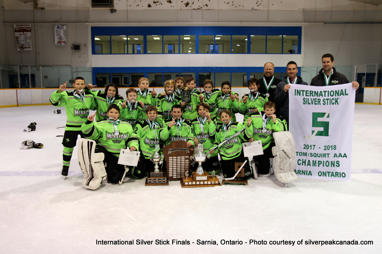 Silver Stick Finals Photos Sarnia SilverPeak Studios Action Photography Atom AAA Champs