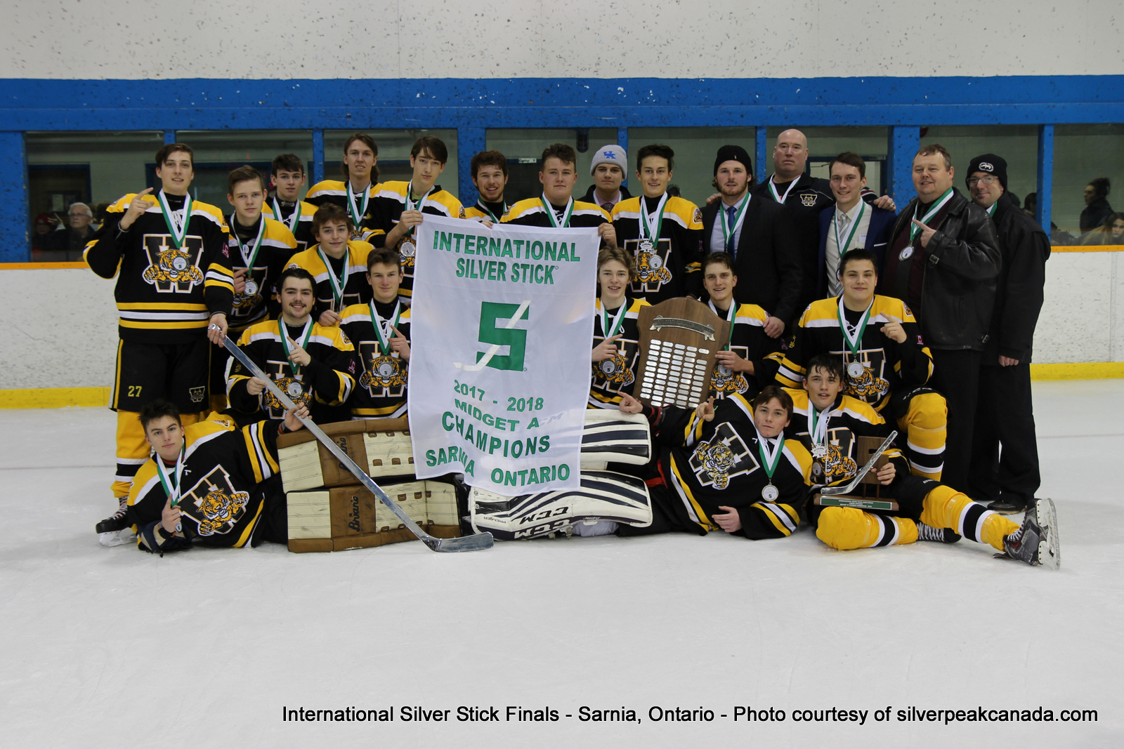 Silver Stick Finals Photos Sarnia SilverPeak Studios Action Photography Midget A Champs