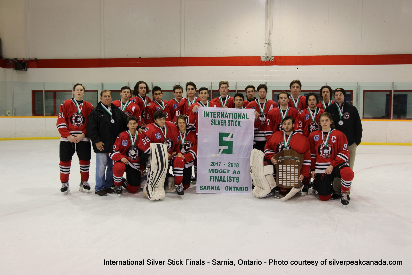Silver Stick Finals Photos Sarnia SilverPeak Studios Action Photography Midget AA Finalists