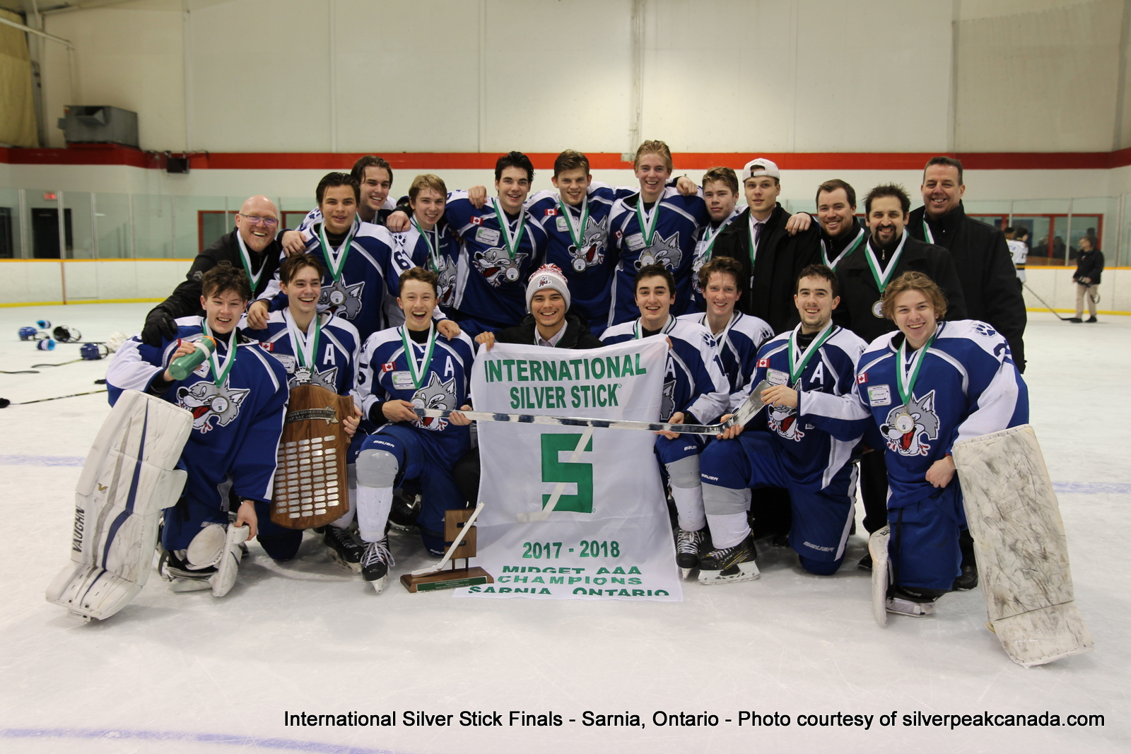Silver Stick Finals Photos Sarnia SilverPeak Studios Action Photography Midget AAA Champs