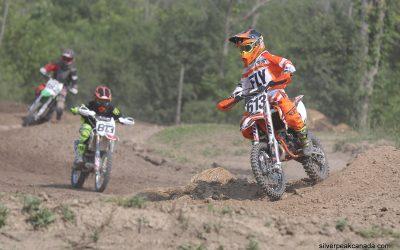 Motocross at Gully Mor Moto race track in Alvinston, Ontario