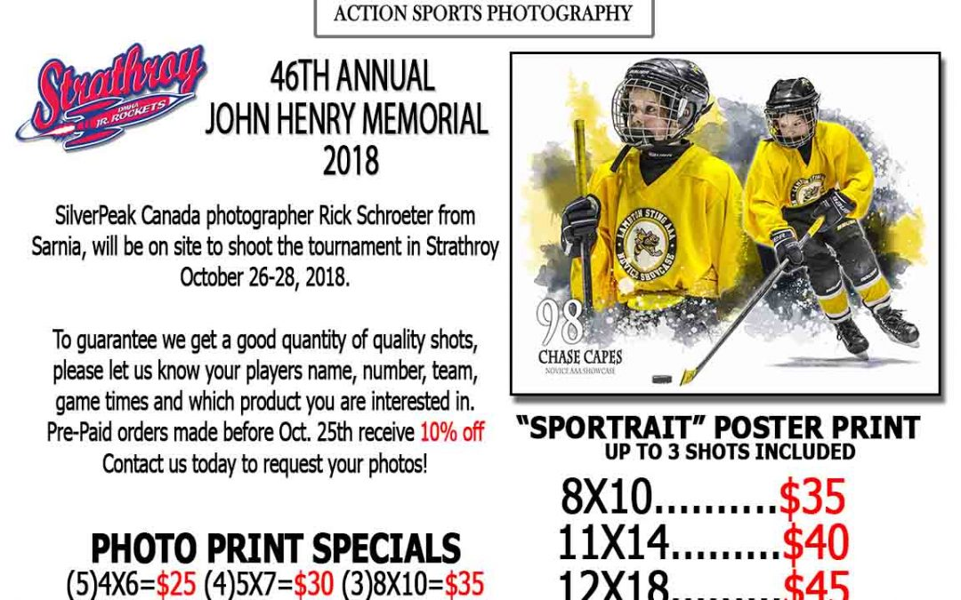 46th Annual John Henry Memorial Tournament Strathroy