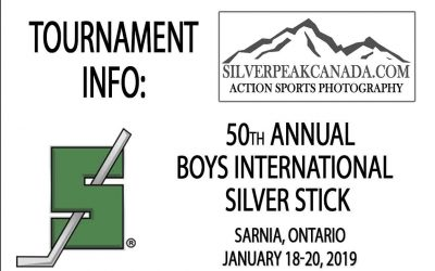 50th Annual Sarnia Boys Silver Stick Finals – Jan. 18-20, 2019