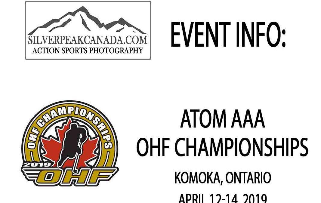 2019 OHF Championships Atom AAA