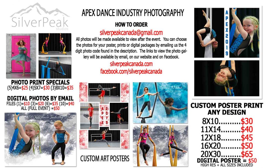 APEX Dance Industry Photoshoot