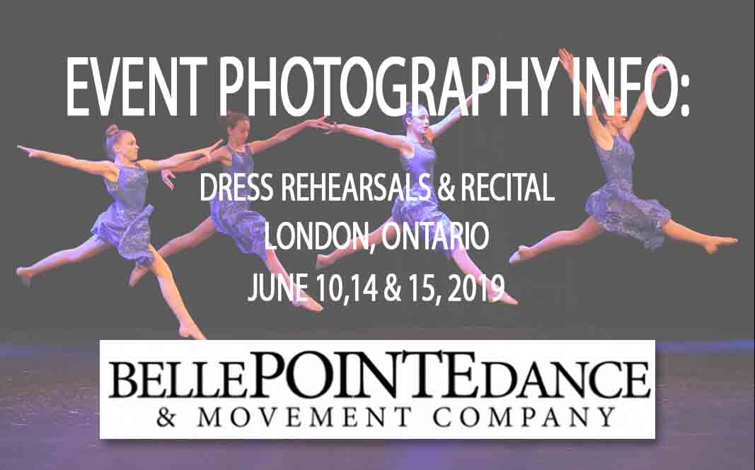 Belle Pointe Dance Recital Photography