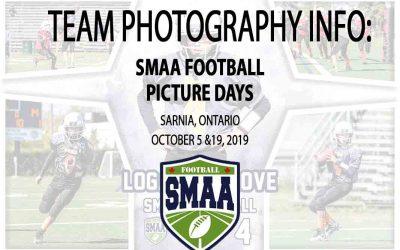 2019 Season SMAA Football Picture Days