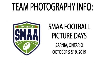 2019 Season SMAA Football Picture Days