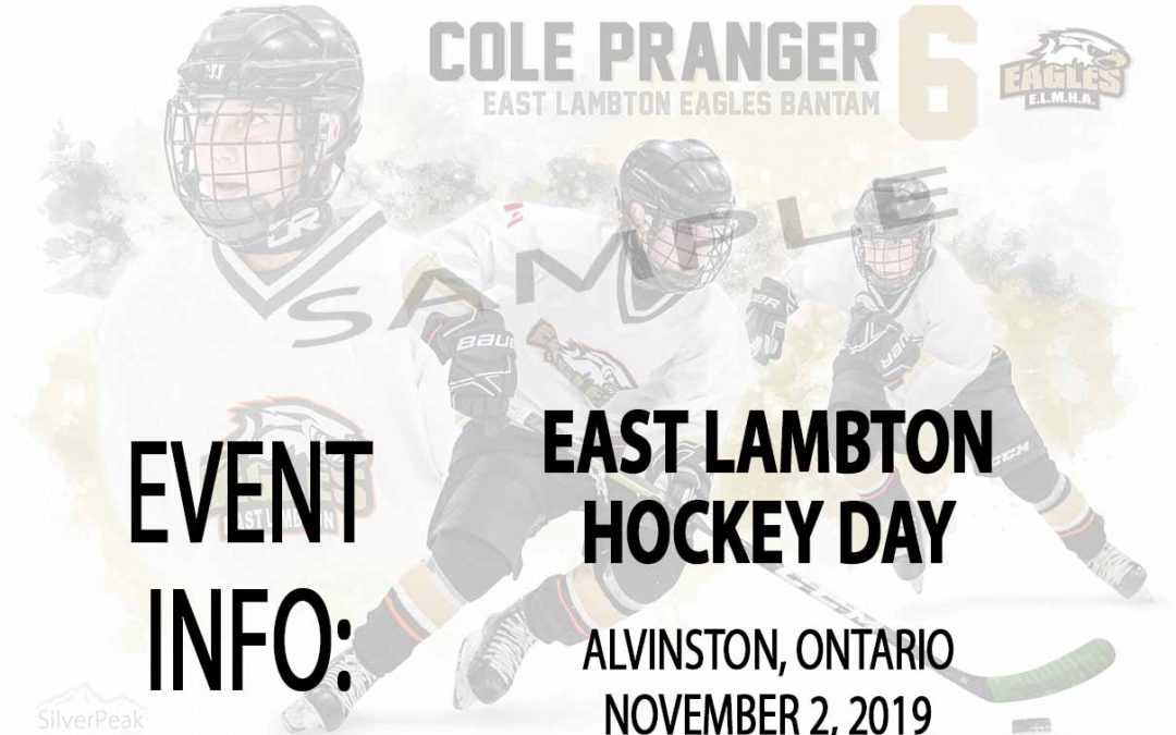 2019-20 East Lambton Hockey Day Photography