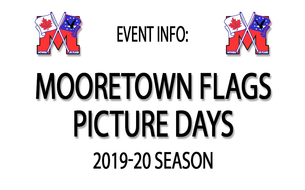 2019-20 Mooretown Minor Hockey Picture Days