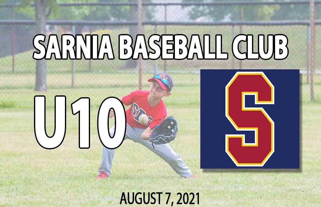 Sarnia Baseball Club U10