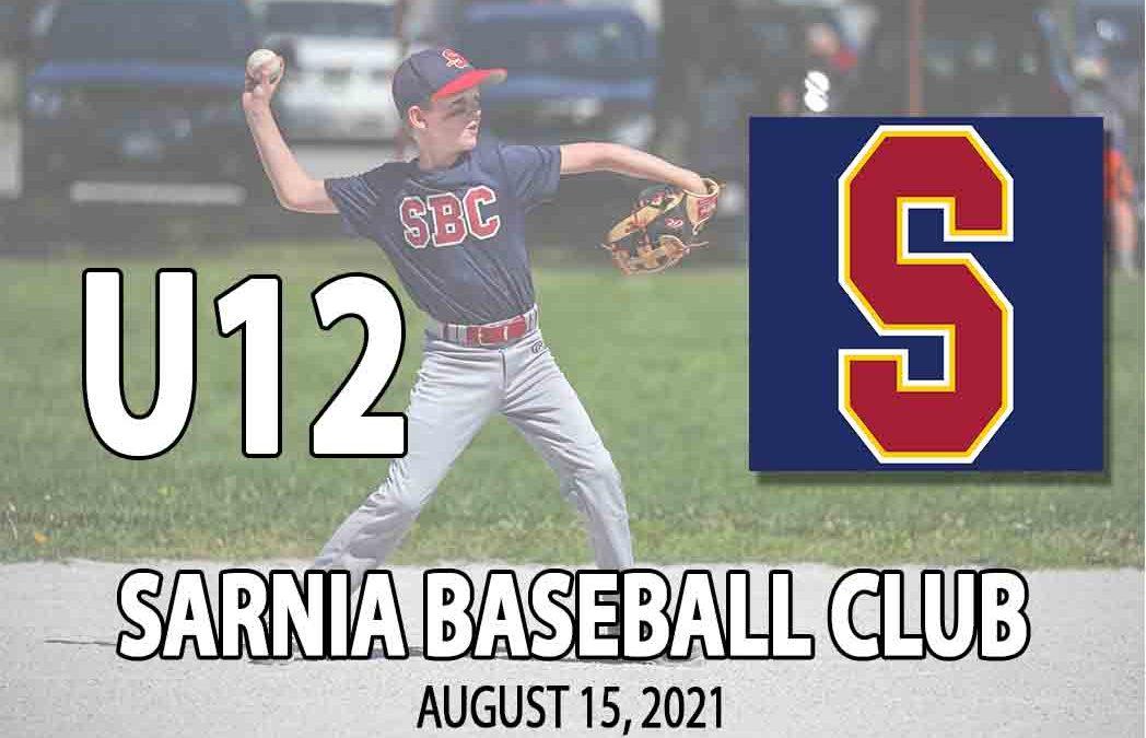 Sarnia Baseball Club U12